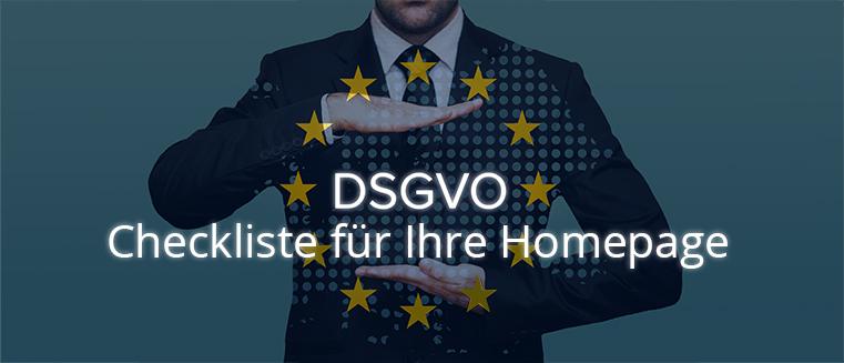 DSGVO-Checkliste für Ihre Homepage